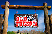 Old Tucson movie studio, Tucson, Arizona USA