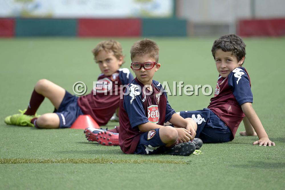 &copy; Filippo Alfero<br /> Campo estivo Torino FC, Cit Turin, 2&deg;turno<br /> Torino, 23/06/2015<br /> sport calcio