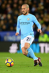 David Silva of Manchester City - Mandatory by-line: Alex James/JMP - 18/11/2017 - FOOTBALL - King Power Stadium - Leicester, England - Leicester City v Manchester City - Premier League