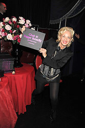 AMANDA ELIASCH at a party to celebrate the publication of Cloak & Dagger Butterfly by Amanda Eliasch held at the Soho Revue Bar, London on 17th November 2008.