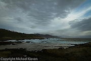 Dramatic Image of clouds swirling over Spanish Bay on 17 Mile Drive