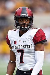 BERKELEY, CA - SEPTEMBER 12:  Defensive back JJ Whittaker #7 of the San Diego State Aztecs looks on during the second quarter against the California Golden Bears at California Memorial Stadium on September 12, 2015 in Berkeley, California. The California Golden Bears defeated the San Diego State Aztecs 35-7. (Photo by Jason O. Watson/Getty Images) *** Local Caption *** JJ Whittaker