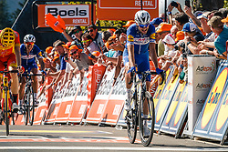 SERRY Pieter of Quick-Step Floors after the 2018 La Flèche Wallonne race, Huy, Belgium, 18 April 2018, Photo by Thomas van Bracht / PelotonPhotos.com | All photos usage must carry mandatory copyright credit (Peloton Photos | Thomas van Bracht)