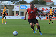 Garry Thompson of Morecambe during the EFL Sky Bet League 2 match between Morecambe and Newport County at the Globe Arena, Morecambe, England on 16 September 2017. Photo by Mick Haynes.