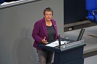 DEU, Deutschland, Germany, Berlin, 13.12.2017: Kathrin Vogler (Die Linke) bei einer Rede im Deutschen Bundestag.