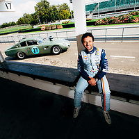 Autosport Feature<br /> Aston 212<br /> Goodwood Motor Circuit<br /> Wednesday 3 September 2014.<br /> Photo: Malcolm Griffiths<br /> ref: Digital Image F80P6545<br /> Any use in advertising will incur further charge