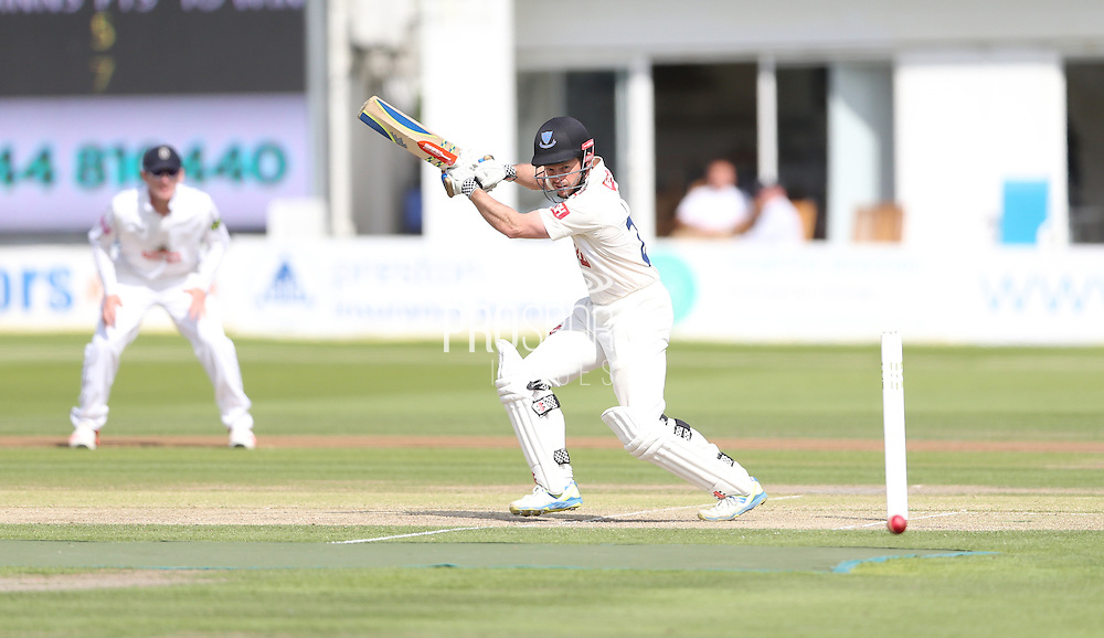 Ed Joyce during the LV County Championship Div 1 match between Sussex County Cricket Club and Hampshire County Cricket Club at the BrightonandHoveJobs.com County Ground, Hove, United Kingdom on 8 June 2015.