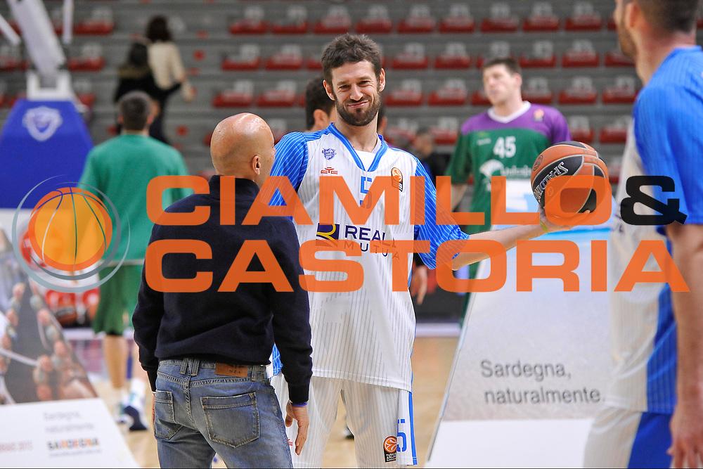 DESCRIZIONE : Eurolega Euroleague 2015/16 Group D Dinamo Banco di Sardegna Sassari - Unicaja Malaga<br /> GIOCATORE : Stefano Sardara Matteo Formenti<br /> CATEGORIA : Fair Play Ritratto Cusiosit&agrave; Before Pregame<br /> SQUADRA : Dinamo Banco di Sardegna Sassari<br /> EVENTO : Eurolega Euroleague 2015/2016<br /> GARA : Dinamo Banco di Sardegna Sassari - Unicaja Malaga<br /> DATA : 10/12/2015<br /> SPORT : Pallacanestro <br /> AUTORE : Agenzia Ciamillo-Castoria/C.AtzoriAUTORE : Agenzia Ciamillo-Castoria/C.Atzori