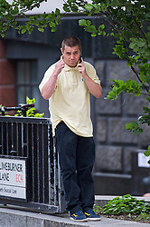 © Licensed to London News Pictures. 10/06/2015. London, UK. Former actor and child star JOHN ALFORD pictured in London on June 10, 2015. JOHN ALFORD was famous for acting roles in TV series' Grange Hill and London's Burning before he was convicted of supplying drugs to the News of the World undercover reporter Mazher Mahmood. Photo credit: London News Pictures