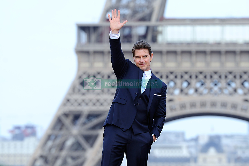 Tom Cruise attending the Global Premiere of Mission: Impossible - Fallout at Palais de Chaillot in Paris, France on July 12, 2018. Photo by Aurore Marechal/ABACAPRESS.COM