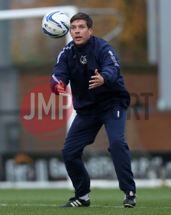 Bristol Rovers assistant manager, Darrell Clarke- Photo mandatory by-line: Matt Bunn/JMP - Tel: Mobile: 07966 386802 23/11/2013 - SPORT - Football - Burton - Pirelli Stadium - Burton Albion v Bristol Rovers - Sky Bet League Two