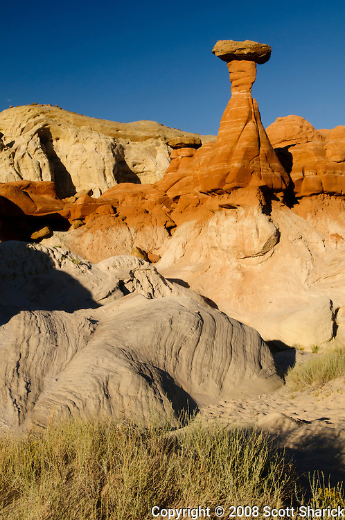 A picture of an interesting rock formation in southern Utah. Missoula Photographer