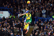 Nemanja Matić of Chelsea and Nathan Redmond of Norwich in action during the Barclays Premier League match at Stamford Bridge, London<br /> Picture by Paul Chesterton/Focus Images Ltd +44 7904 640267<br /> 21/11/2015