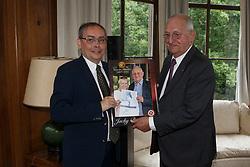 Glenn Maes, Jacky Buchmann<br /> Viering 25 jaar voorzitterschap Jacky Buchmann<br /> © Hippo Foto - Dirk Caremans<br /> 08/07/15