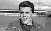 Bert McGonigle, goalkeeper, Linfield FC, Belfast, N Ireland, UK, 1967080000071<br />