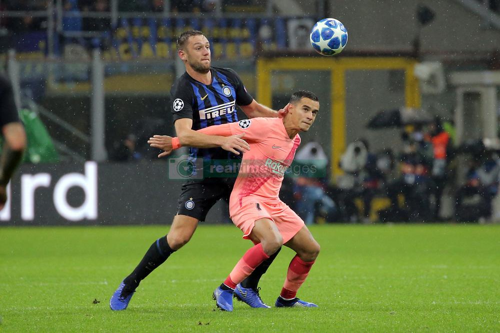 صور مباراة : إنتر ميلان - برشلونة 1-1 ( 06-11-2018 )  20181106-zaa-n230-468