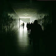 Europa, Portugal, Lissabon, Bel&eacute;m. Fussg&auml;ngertunnel zum Denkmal Padr&atilde;o dos Descobrimentos.<br /> Europe, Portugal, Lisbon, Bel&eacute;m. Tunnel to Padr&atilde;o dos Descobrimentos.<br /> &copy; 2013 Harald Krieg/Agentur Focus