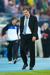 OSIJEK, CROATIA - Sunday, May 23, 2010: Croatia's head coach Slaven Bilic during the International Friendly match against Wales at the Stadion Gradski Vrt. (Pic by David Rawcliffe/Propaganda)