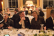 LORD CHOLMOPNDELEY; PRINCESS KATYA GALITZINE, , Professor Mikhail Piotrovsky Director of the State Hermitage Museum, St. Petersburg and <br /> Inna Bazhenova Founder of In Artibus and the new owner of the Art Newspaper worldwide<br /> host THE HERMITAGE FOUNDATION GALA BANQUET<br /> GALA DINNER <br /> Spencer House, St. James's Place, London<br /> 15 April 2015