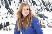 Fotosessie met de koninklijke familie in Lech /// Photoshoot with the Dutch royal family in Lech .<br /> <br /> Op de foto/ On the photo: Prinses Alexia /////  Princess Alexia