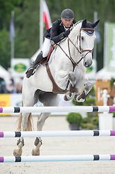 Vanhouche Giel, (BEL), Figaro de Verby<br /> Jumping - CIC3* - Luhmuhlen 2016<br /> © Hippo Foto - Jon Stroud