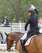 William Coleman (USA) and OBOS O'Reilly during the Rolex Kentucky 3-Day Event at the Kentucky Horse Park in Lexington, Kentucky, April 27, 2017.