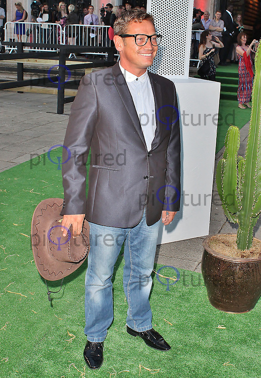 LONDON - August 21: Sid Owen at the Channel 5 Dallas Launch Party (Photo by Brett D. Cove)