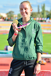 Paralympics Ireland Medalist Greta Streimikyte, T13, IRE at the Berlin 2018 World Para Athletics European Championships