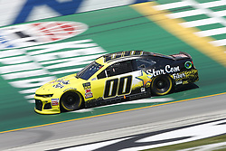 July 13, 2018 - Sparta, Kentucky, United States of America - Landon Cassill (00) brings his race car down the front stretch during practice for the Quaker State 400 at Kentucky Speedway in Sparta, Kentucky. (Credit Image: © Chris Owens Asp Inc/ASP via ZUMA Wire)