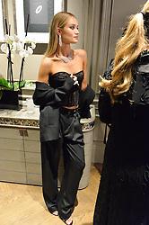 ROSIE HUNTINGTON-WHITELEY at the opening of the Nirav Modi flagship London store at 31 Old Bond Street, London on 19th September 2016.