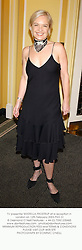 TV presenter MARIELLA FROSTRUP at a reception in London on 12th February 2003.			PHD 31