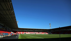 A general view of the Keepmoat Stadium, home of Doncaster Rovers - Mandatory by-line: Joe Dent/JMP - 21/09/2019 - FOOTBALL - The Keepmoat Stadium - Doncaster, England - Doncaster Rovers v Peterborough United - Sky Bet League One