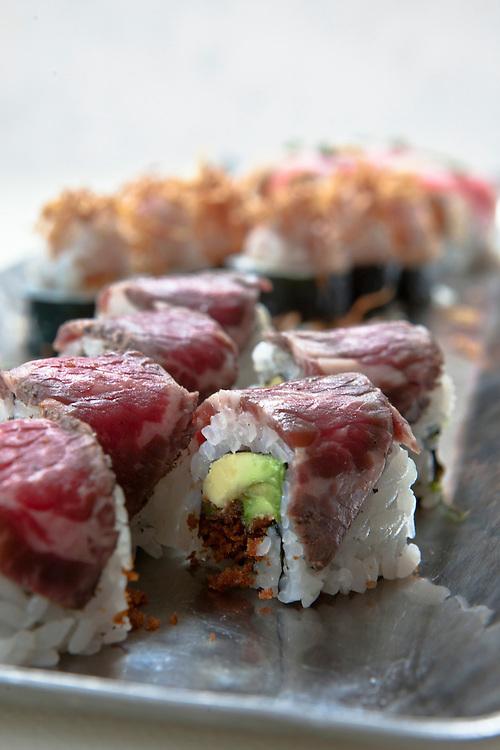 Kobe beef rolls.