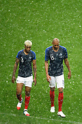 Presnel KIMPEMBE (FRA) and Steven NZONZI (FRA) left the game at the end during the FIFA Friendly Game football match between France and Republic of Ireland on May 28, 2018 at Stade de France in Saint-Denis near Paris, France - Photo Stephane Allaman / ProSportsImages / DPPI