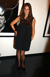 ELIZABETH SALTZMAN at a private view of an exhibition of portrait photographs by Danish photographer Marc Hom held at the Hamiltons Gallery, 13 Carlos Place, London on 23rd October 2006.<br /><br />NON EXCLUSIVE - WORLD RIGHTS