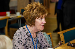 Pictured: <br /> <br /> Scotland's Chief Nursing Officer (CNO) Fiona McQueen met members of the NHS Retirement Fellowship as the 70th anniversary of the NHS approaches.<br /> <br /> Ger Harley | EEm 21 June 2018