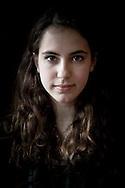 Nederland, Haren 20131029. Elisa Kapetanovic (17), leerlinge weekendschool. foto: Pepijn van den Broeke