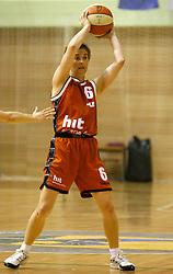 Simona Jurse at finals of Slovenian women basketball 1st league between Hit Kranjska Gora and ZKK Merkur Celje, on May 15, 2007, in Kranjska Gora, Slovenia. (Photo by Vid Ponikvar / Sportida)