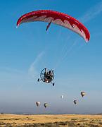 Hang Gliding at Temecula Valley Balloon & Wine Festival