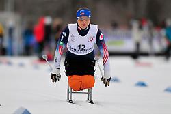 MASTERS Oksana, USA at the 2014 IPC Nordic Skiing World Cup Finals - Sprint