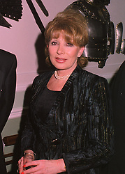 BARONESS VON MOSER at a reception in London on 19th March 1998.<br /> MGF 25 WO