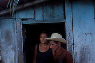 Junco do Maranhao, Brazil, June 25 of 2013:   Bolsa Familia em Junco do Maranhao. A família Maria da Conceição Silva dos Santos, 48, Cosmo Laureno dos Santos, 52. (photo: Caio Guatelli)