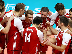 September 30, 2018 - Turin, Italy - Poland v Brazil - FIVP Men's World Championship Final.Artur Szalpuk of Poland at Pala Alpitour in Turin, Italy on September 30, 2018. (Credit Image: © Matteo Ciambelli/NurPhoto/ZUMA Press)