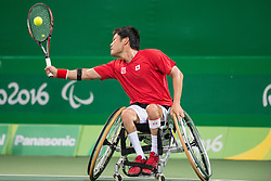 Shingo Kundieda, JPN, Wheelchair Tennis at Rio 2016 Paralympic Games, Brazil