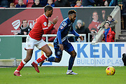 Birmingham City midfielder Jacques Maghoma attacks during the Sky Bet Championship match between Bristol City and Birmingham City at Ashton Gate, Bristol, England on 30 January 2016. Photo by Alan Franklin.