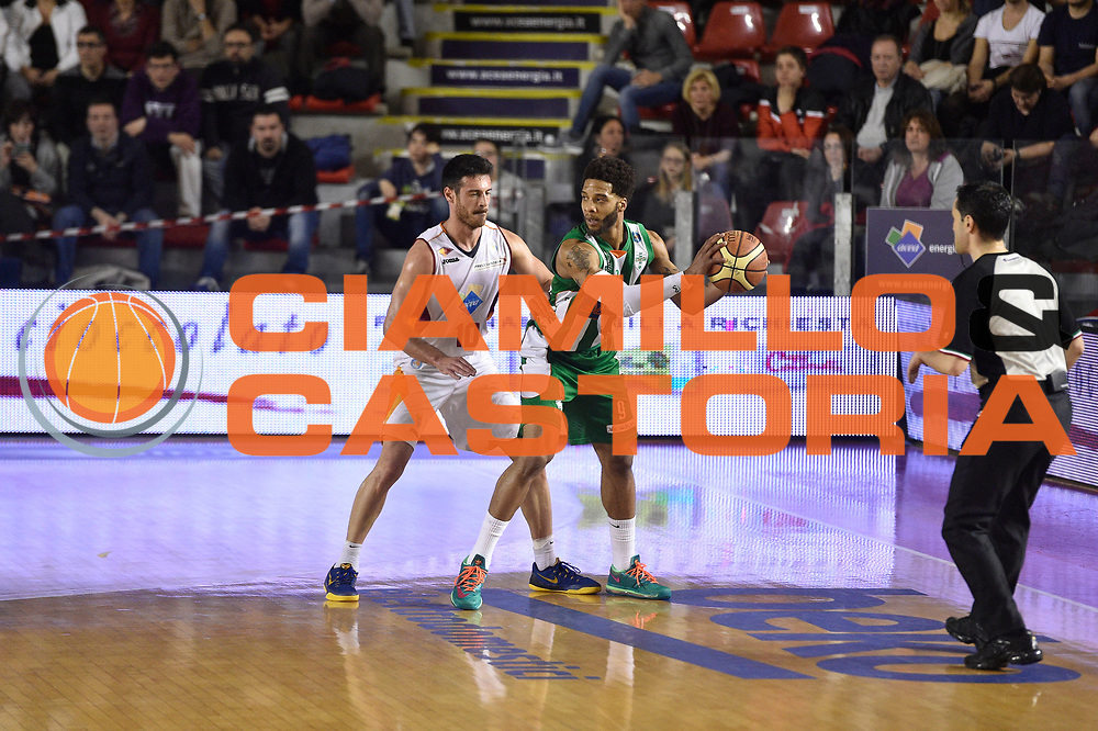 DESCRIZIONE : Roma Lega A 2014-15 <br /> Acea Virtus Roma - Sidigas Avellino <br /> GIOCATORE : Lorenzo D'Ercole<br /> CATEGORIA : difesa controcampo <br /> SQUADRA : Sidigas Avellino <br /> EVENTO : Campionato Lega A 2014-2015 <br /> GARA : Acea Virtus Roma - Sidigas Avellino <br /> DATA : 04/04/2015<br /> SPORT : Pallacanestro <br /> AUTORE : Agenzia Ciamillo-Castoria/GiulioCiamillo<br /> Galleria : Lega Basket A 2014-2015  <br /> Fotonotizia : Roma Lega A 2014-15 Acea Virtus Roma - Sidigas Avellino