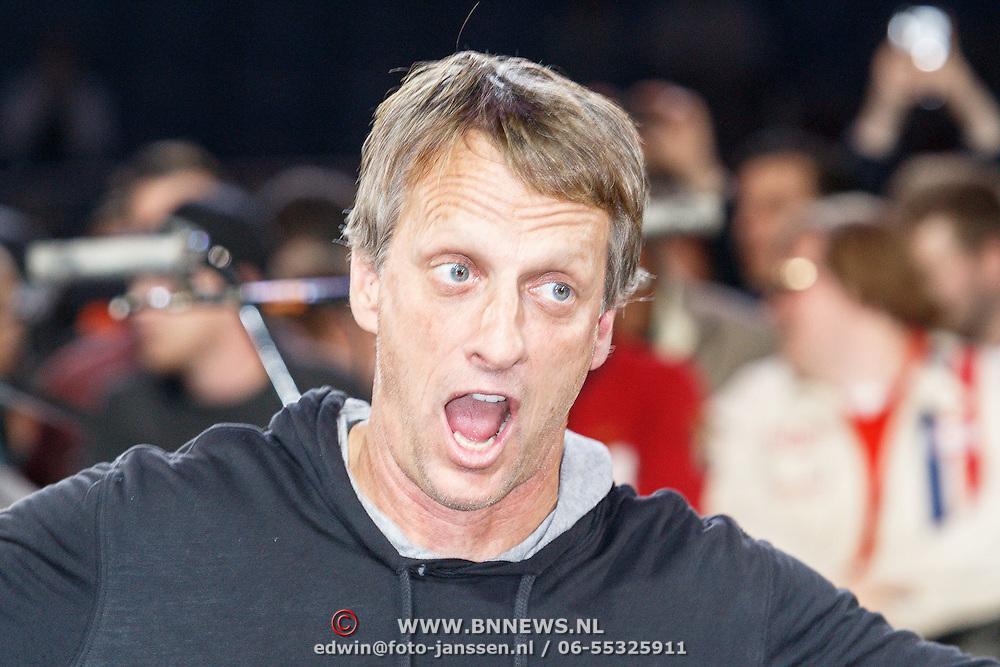 NLD/Amsterdam/20150526 - Gumball 3000 aankomst in de Amsterdam Arena, Tony Hawk