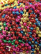 Mardi Gras Beads.<br /> <br /> <br /> <br /> <br /> ALL RIGHTS RESERVED NOT FOR USE WITHOUT PERMISSION OF PHOTOGRAPHER KAREN PULFER FOCHT