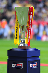 BARNSLEY LIFT AND CELEBRATE  THE WINNING 2016 JOHNSTONE PAINT TROPHYTHE JOHNSTONES FINAL PAINT TROPHY,  Barnsley v Oxford United, Johnstones Paint Trophy Final Wembley Stadium Sunday 3rd April 2016, (Score Barnsley 3, Oxford 2)