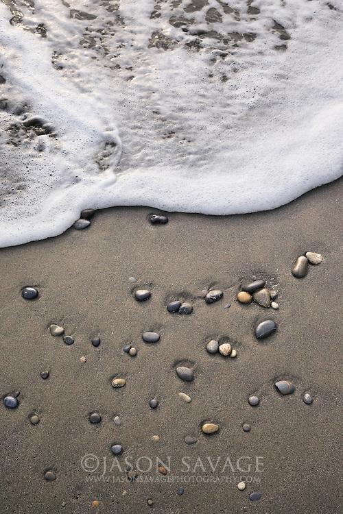 Waves on Rialto Beach, Olympic National Park.
